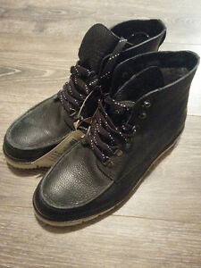 Men Leather Winter Boot - (Brand New Jack and Jones)