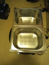 Hot dog steamer X 2 will split