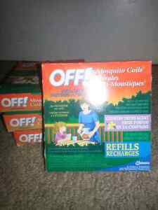 Off mosquito coils