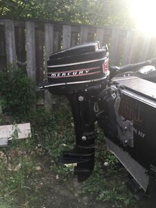 Older merc 4hp outboard