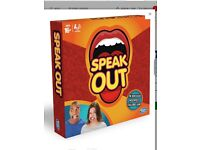 Genuine Hasbro Speak Out Game ~ purchased Argos ~ SOLD OUT EVERYWHERE