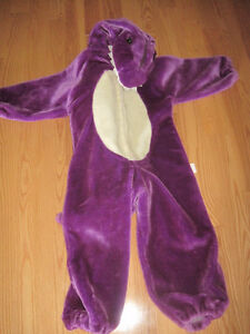 Costume - Purple Dinosaur - fits approx 6 year old