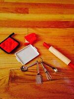 "Baking set for 18"" Dolls such as American Girl"
