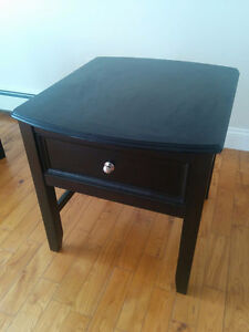 Ashley end table with drawer