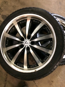 19 inch wheel with brand new tires