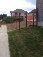 Post Holes/Fence Installs/Post Repairs/Chainlink