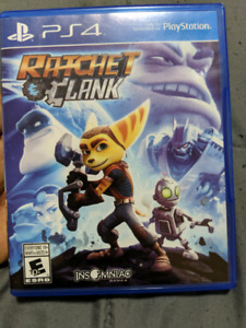 PS4 Games Call of Duty and Ratchet & Clank