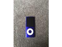 Ipod apple nano purple