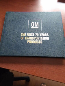 GM : First 75 years of transportation products