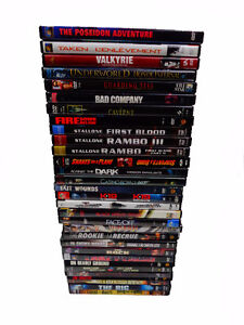 Lot 31 DVD RIG snakes on a plane BON COP BAD COP the rock