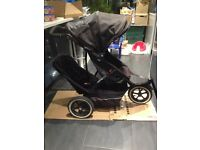 Phil & Teds Explorer Double Buggy / Pushchair