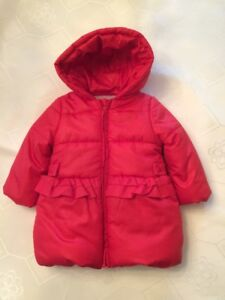 Quilted hooded jacket - 12 months