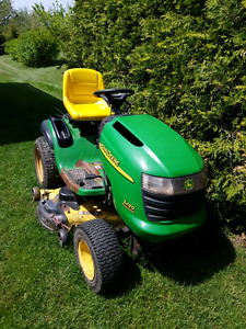 John Deere L120 and Blower  for Parts
