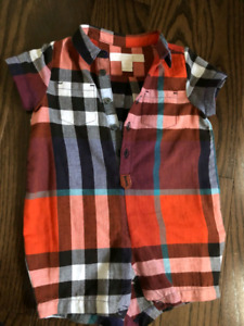 Burberry Boys Romper