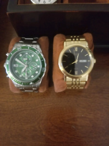 2 watches for sale