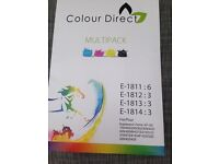Colour direct ink cartridges