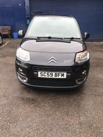 Citroen C3 Picasso 1.6HDi diesel 59 plate