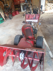 SOLD PPU Snowblower-parts or rerpair