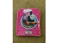 Pink Rosie Tank Engine kids backpack