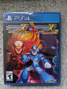 Mega Man X Legacy Collection 1 + 2 - PS4 (Sealed new)