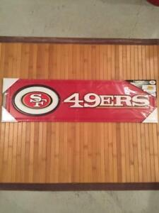 San Francisco 49ers 3D Wooden Team Logo Plaque (New) Calgary Alberta Preview