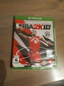 nba2k18  brand new, in package, 60 firm
