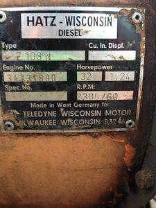 Hatz Wisconsin Diesel Military Surplus