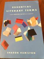 Essential Literary Terms For Sale