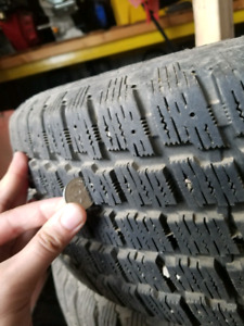 Great condition Winter tires and rims 215/60/r15