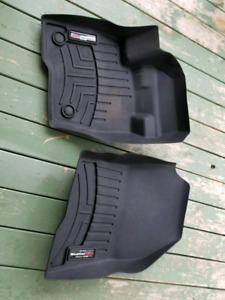 2014-2018 Ford edge front wethertech mats