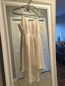 Size 6 Ivory Aritzia Talula Dress New with Tags
