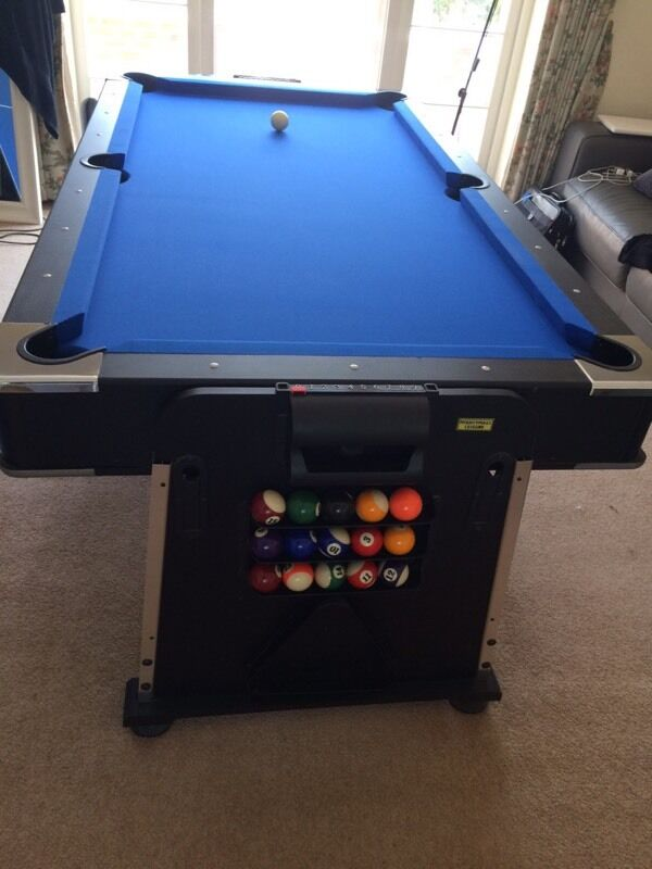 Mightymast leisure revolver 7ft 3 in 1 multigames table pool air hockey table tennis in knowle - Gumtree table tennis table ...