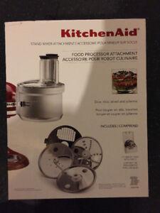 Kitchen Aid Stand Food Processor Attachment
