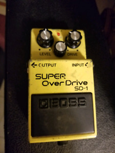 Boss Super OD and DS-1