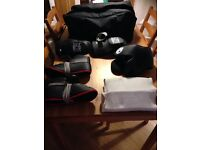 Large boys or woman's full AES Sports sparring kit