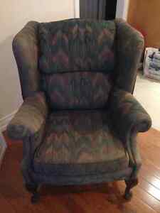 Beautiful Brentwood Wing Chair Peterborough Peterborough Area image 3