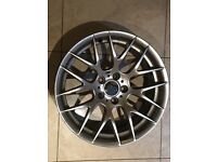 "19"" GENUINE BMW M 359 ALLOY WHEEL SINGLE X1 FRONT 9J CSL M3 COMPETITION PACKAGE 1M"