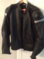 Ducati branded Dainese armored leather Jacket