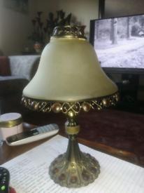 Tea light holder lamp partylite