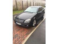 Mercedes Benz CLC 1.6 Black 57,000 miles