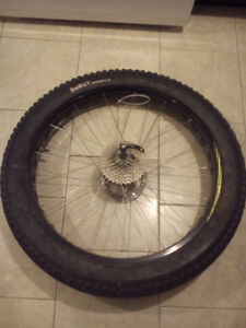 26 x 4.0 Norco mountain bike rim and tire