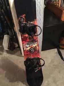 Snowboard and Boots Used once BRAND NEW Kingston Kingston Area image 2
