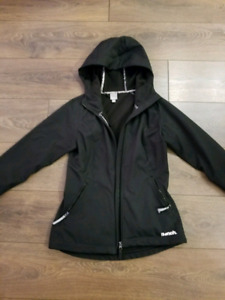 Excellent black Bench jacket with a hood for $50 OBO!