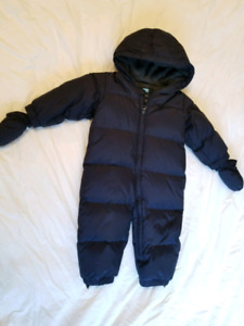 Baby Gap snowsuit purchased New for $89. Size 12-18 mths