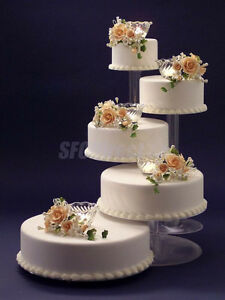 support gâteau mariage fontaine cake stand display cupcake