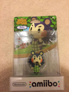 Mabel amiibo Figure by Nintendo - Animal Crossing Series New