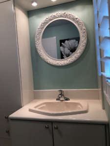 Bathroom Vanity, Sink, Faucet and Storage