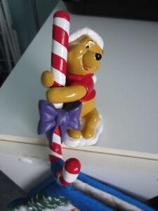 bas de Noël Winnie the Pooh et support pour le suspendre