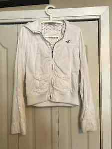 White Hollister Jacket Kingston Kingston Area image 3