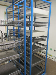 "For Sale Craven Trolleys6 Feet High x 19"" Deep x 20 1/2"" wide"